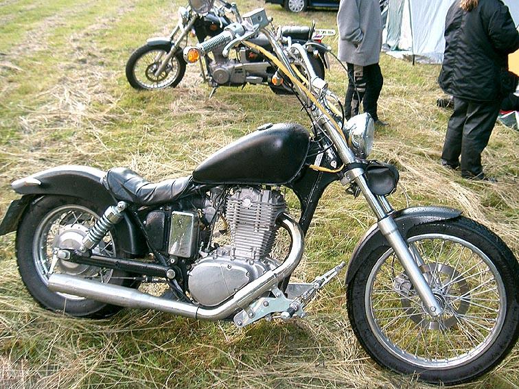 suzuki ls 650 savage auspuffanlage motorrad bild idee. Black Bedroom Furniture Sets. Home Design Ideas